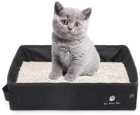 mejor arenero para gatos plegable e impermeable ara viajar