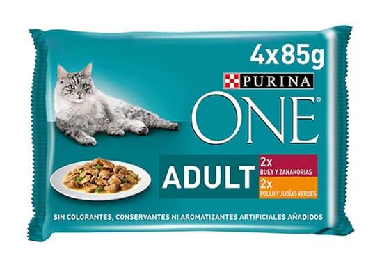 Comida húmeda gatos adultos Purina Amazon