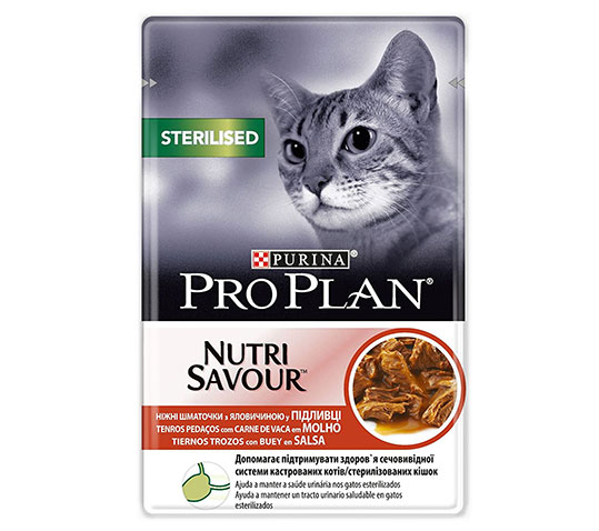 Comida húmeda gatos esterilizados Purina Amazon