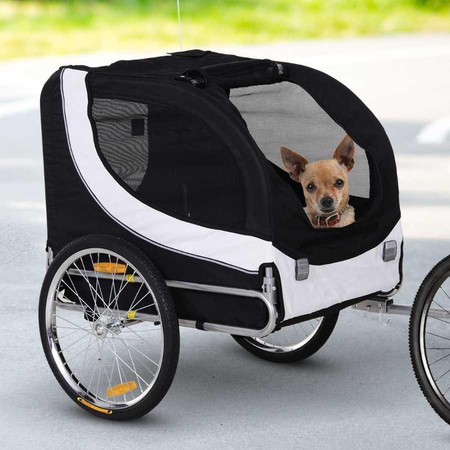 remolque bicicleta para perros