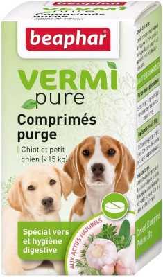 pastillas naturales para desparasitar perros medianos y pequeños