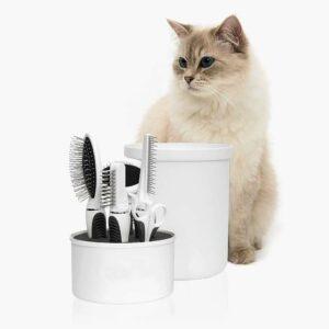 cuidados gatos de pelo largo